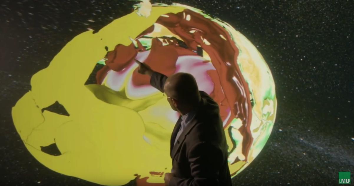 Professor Bunge erklärt das Werden der Erde