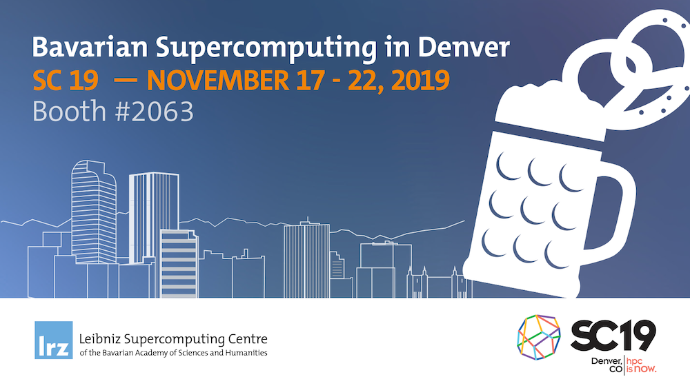 Twittercard for the Bavarian Supercomputing Alliance at the SC19