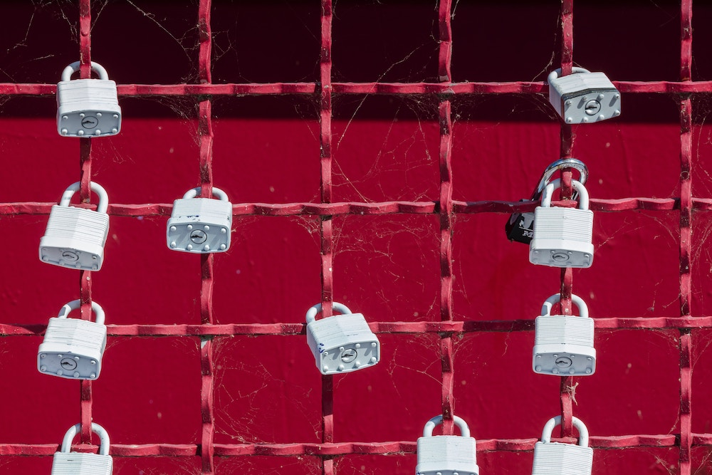 Securly closed: Passwords are often stolen. Photo: J. Moore / Unsplash