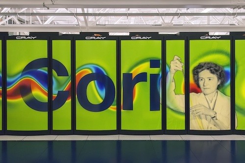 Supercomputer named Cori of the NERSC/USA